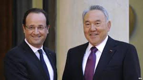Президент Олландтың Президент Назарбаевқа құттықтау хаты ... Тәуелсіздік Күнімен Құттықтау